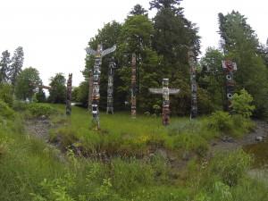 Totempfähle Stanley Park